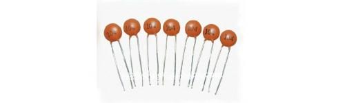 Capacitores en nano Faradios