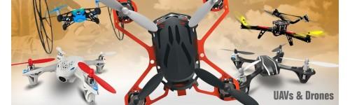 Drones y partes para armarlos